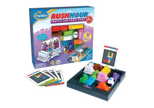 THINK FUN Rush Hour Jr - Traffic Jam Logic Game
