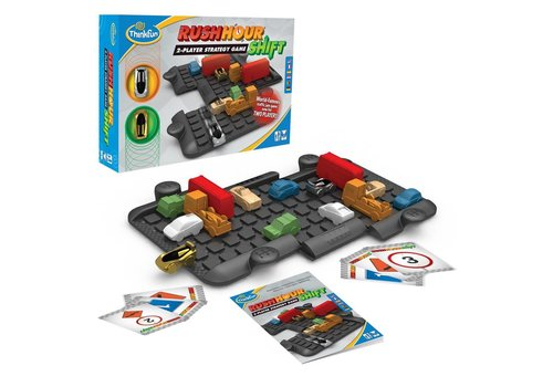 THINK FUN Rush Hour Shift 2-player strategy game