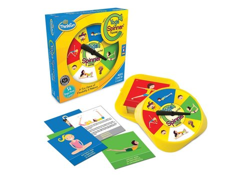 THINK FUN Yoga Spinner - A Fun Yoga Game of Flexibility and Balance