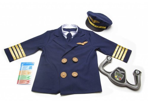 Melissa & Doug Pilot Role Play Set