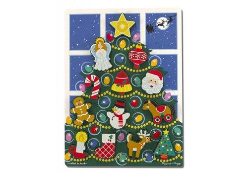 Melissa & Doug Christmas Tree Chunky Puzzle