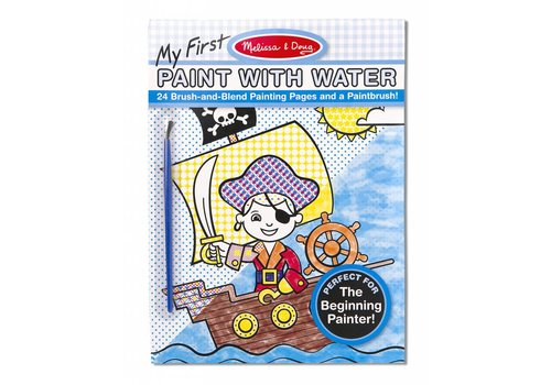 Melissa & Doug Pirates, Space, Construction and More My First Paint with Water