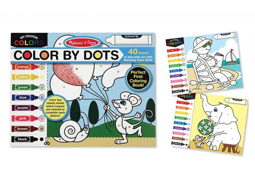 Melissa & Doug Color by Dots Coloring Pad