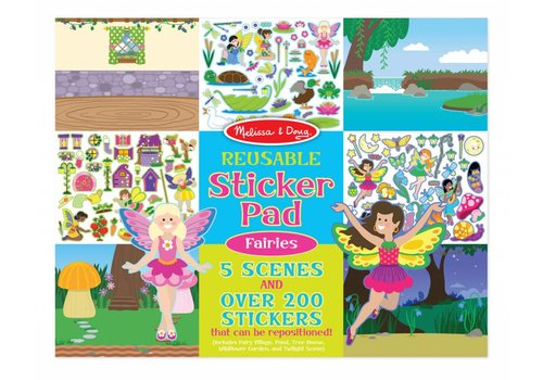 Melissa & Doug Fairies Reusable Sticker Pad