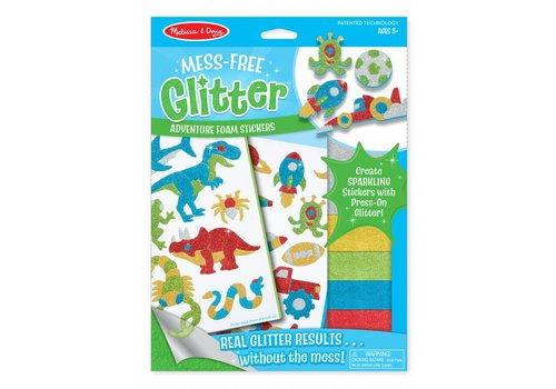 Melissa & Doug Adventure Foam Stickers Mess-Free Glitter