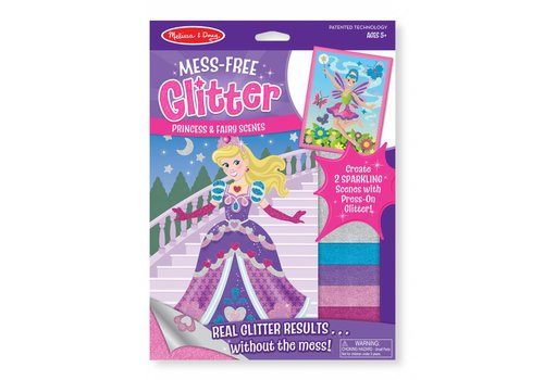 Melissa & Doug Princess and Fairy Scenes Mess-Free Glitter