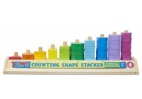 Melissa & Doug Counting Shape Stacker *
