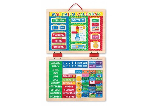 Melissa & Doug My Magnetic Daily Calendar Ages 3+ *