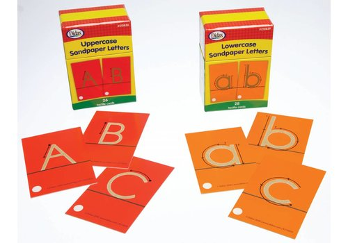 Didax Sandpaper Letters - Uppercase