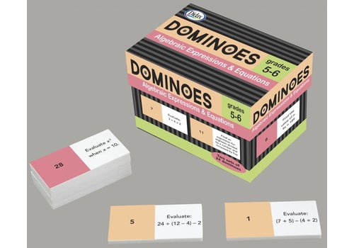 Didax Algebraic Expressions & Equations Dominoes