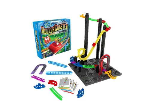 Rollercoaster Challenge, Thrill RIde Building Game *