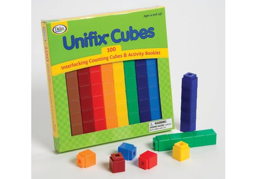 Didax Unifix Cubes Box of 100 Assorted Colors *