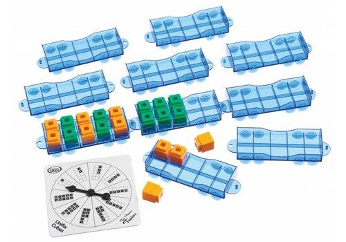 Didax Unifix Ten-Frames Train Set