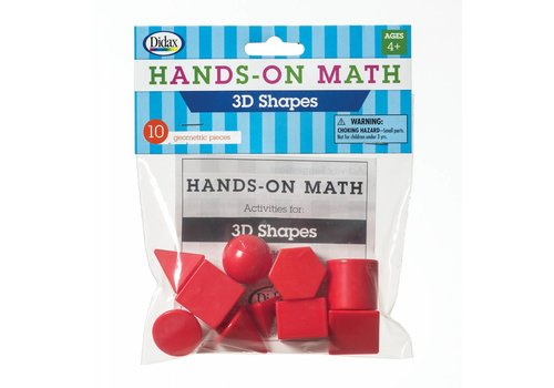 Didax Hands-On Math 3D Shapes