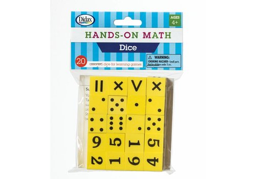 Didax Hands-On Math  Dice *