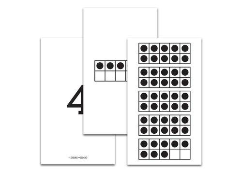 Didax 1-50 Ten-Frame Cards