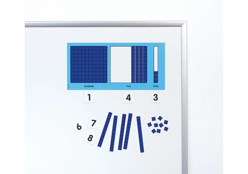 Didax Magnetic Base Ten Place Value Set