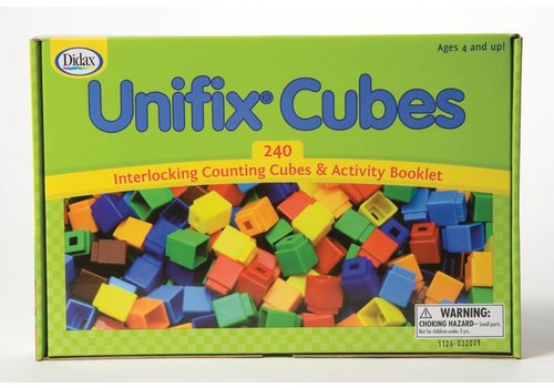Didax Unifix Cubes for Pattern Building 240