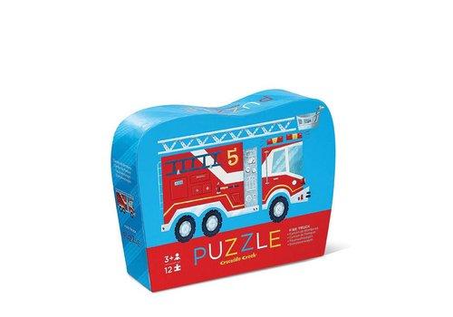 Crocodile Creek 12 pc Mini Puzzle/Fire Truck