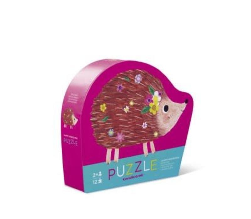12 pc Mini Puzzle/Happy Hedgehog NEW!