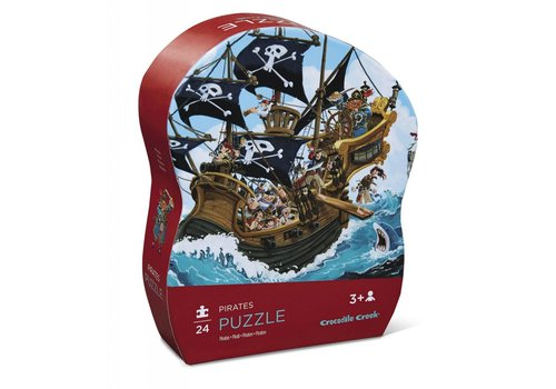 Crocodile Creek 24 pc Mini Puzzle/ Pirates