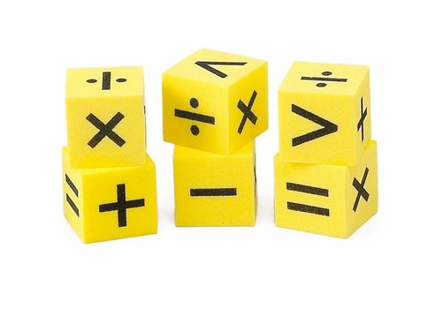 Didax Easyshapes Operation Dice, set of 6