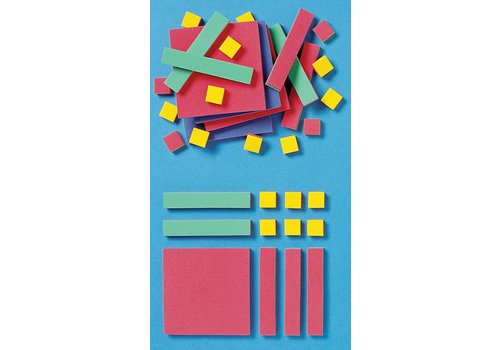 Didax Easyshapes Algebra Tiles, 35 pieces