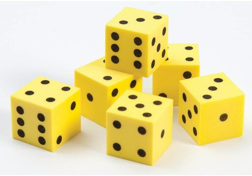 Didax Easyshapes Dot Dice, set of 6