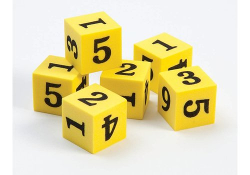 Didax Easyshapes Number Dice, set of 6