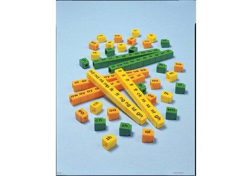 Didax Unifix Letter Cubes Blends *