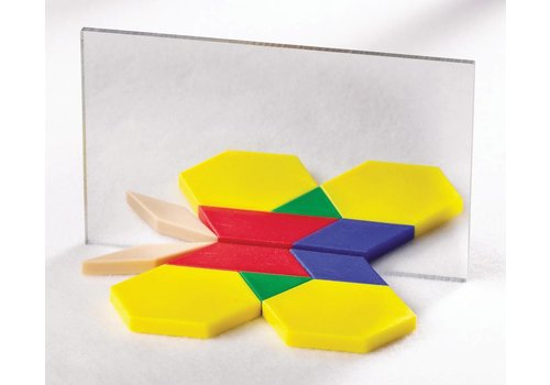 Didax Pattern Block Mirrors - Set of 4