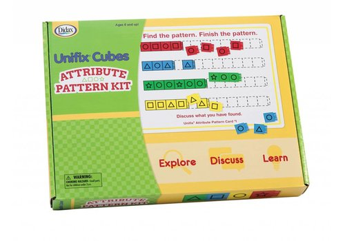 Didax Unifix Cubes - Attribute Pattern Kit