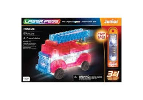 LASER PEGS VENTURES Laser Pegs Junior - RESCUE 3 in 1