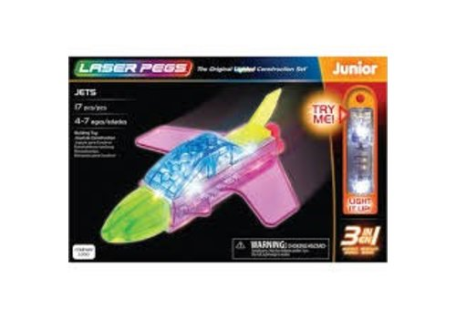 LASER PEGS VENTURES Laser Pegs 3 in 1 JETS