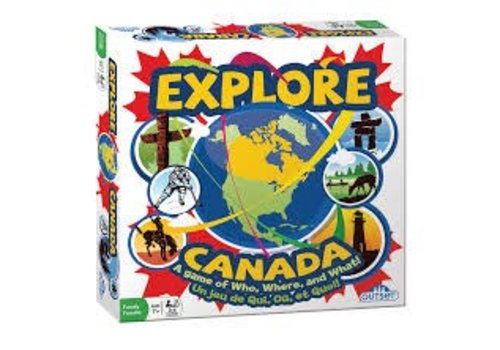 Goliath Explore Canada Trivia Game