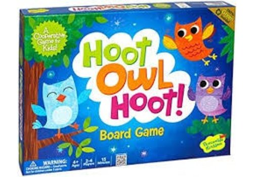 PEACEABLE KINGDOM Hoot Owl Hoot! Cooperative Game *