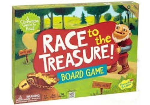 PEACEABLE KINGDOM Race To The Treasure, Cooperative Game *