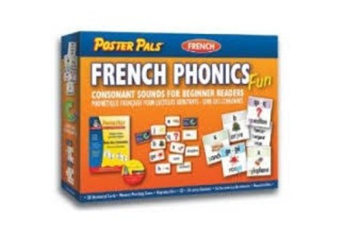 POSTER PALS French Phonics Fun Game - Consonants for Beginner Readers