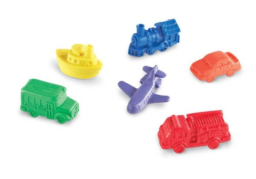 Learning Resources Mini Motors Counters, Set of 72 *
