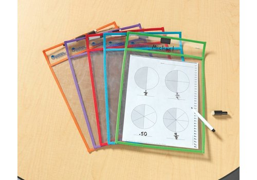 Learning Resources Write & Wipe Pockets *