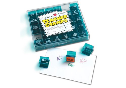 Learning Resources Jumbo Teacher Stamps
