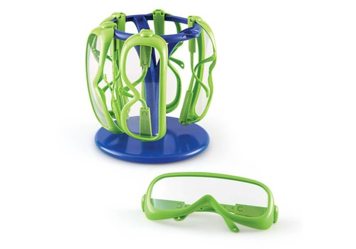 Learning Resources Primary Science Safety Glasses with Stand