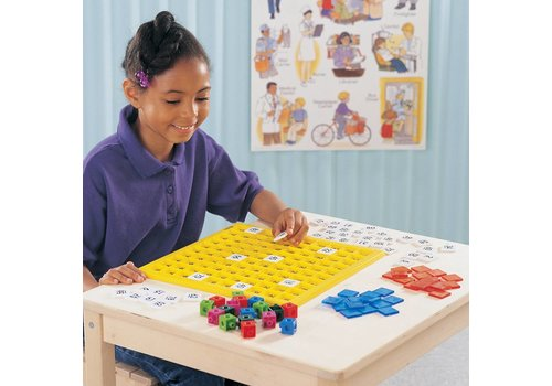 Learning Resources Hundred Number Board Activity Set
