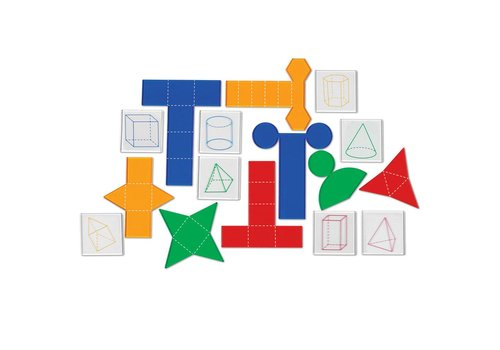 Learning Resources Transparent Folding Geometric Shapes