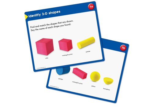 Learning Resources Everyday Geometric Shapes Activity Set