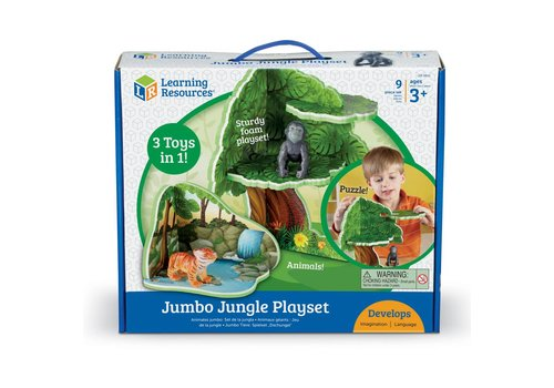 Learning Resources Jumbo Jungle Play Set