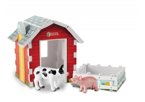 Learning Resources Jumbo Farm Play Set