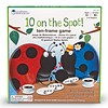 Learning Resources 10 on the Spot! Ten-Frame Game *