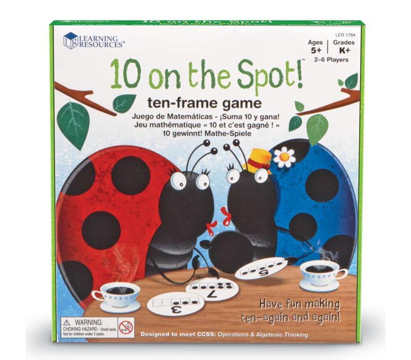 10 on the Spot! Ten-Frame Game *