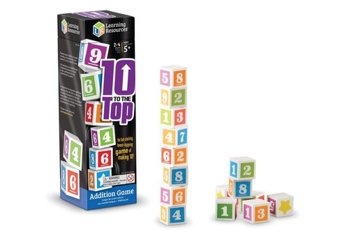 Learning Resources 10 to the Top Addition Game *